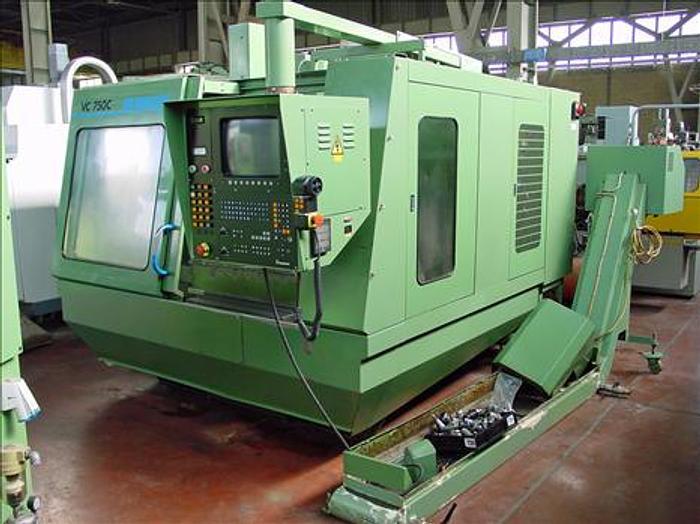 Usata Centro di lavoro verticale MIKRON VC 750 C