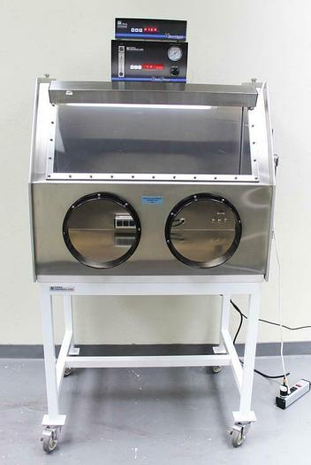 Used Terra Universal Series 300 Glovebox Isolater & NitroWatch Dual Purge System 4565