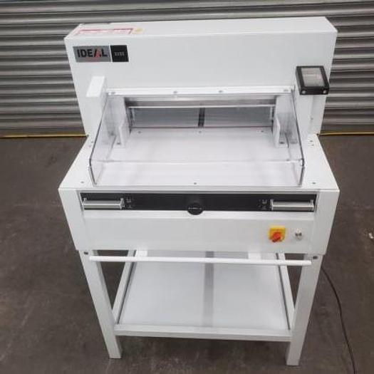 Used Ideal 5255 Paper Guillotine (#1165)