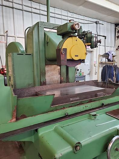 """Used Grand Rapids 16"""" X 30"""" Automatic Surface grinder, 5 HP Wheel Motor, 2"""" X 12"""" Grind Wheel"""