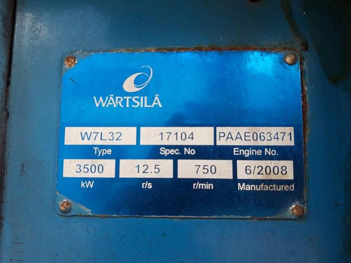 Used 2008 Wartsila W7L32