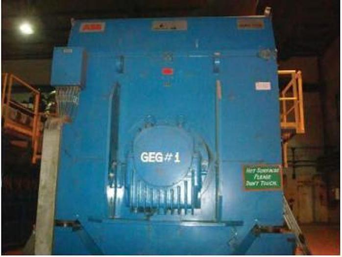 8.73 MW 2007 Used Wartsila 20V34SG Natural Gas Generator Set