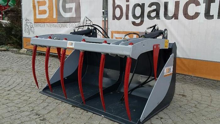 Krokodilschaufel 240 cm passend zu JCB Q fit Aufnahme