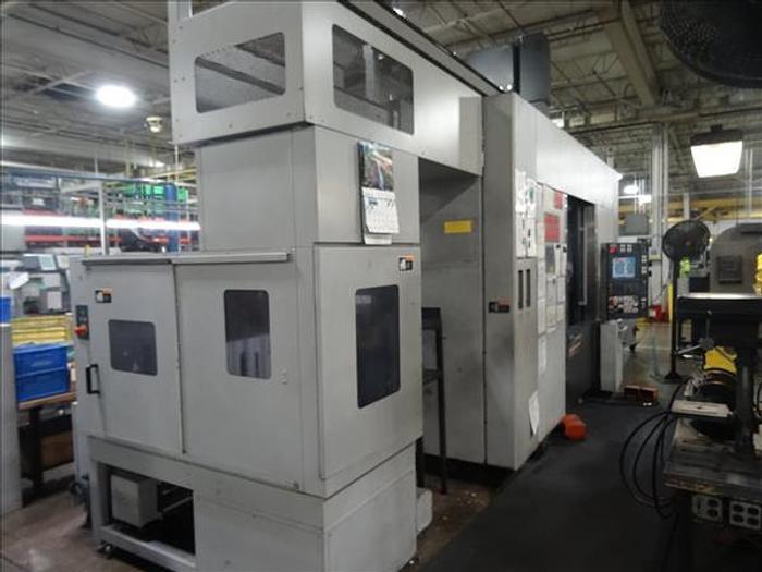 2008 MORI SEIKI  NT4200/1000SZ DCG 5-AXIS CNC MILLING AND TURNING CENTER W/ GANTRY LOADER