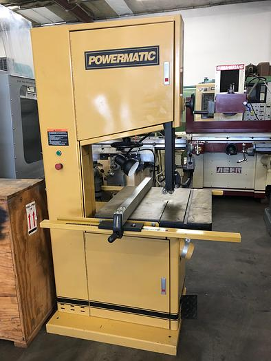 "Used 20"" POWERMATIC,No. 2013-3, WOODWORKING VERTICAL BAND SAW [4913]"