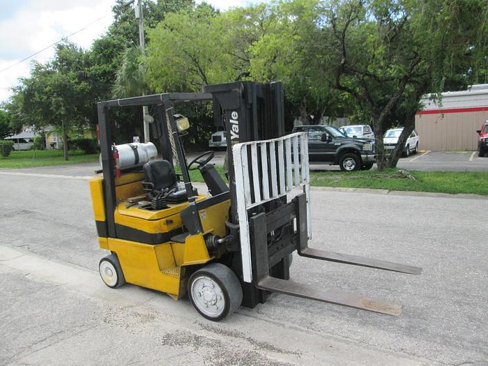 Yale Model GLC080 8000 LB Forklift