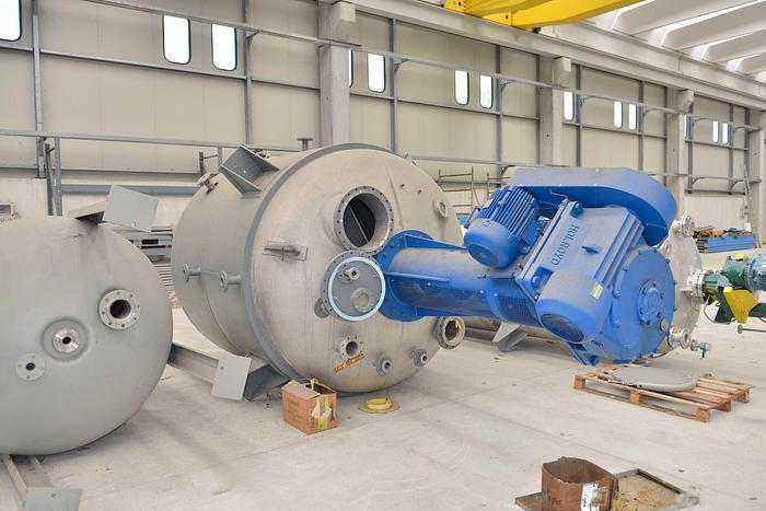 Usata Reattore ETTORE ZANON da 9800 Litri