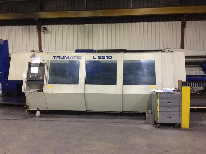 Used 2000 WATT, TRUMPF, L2510, 4' X 10', CNC LASER