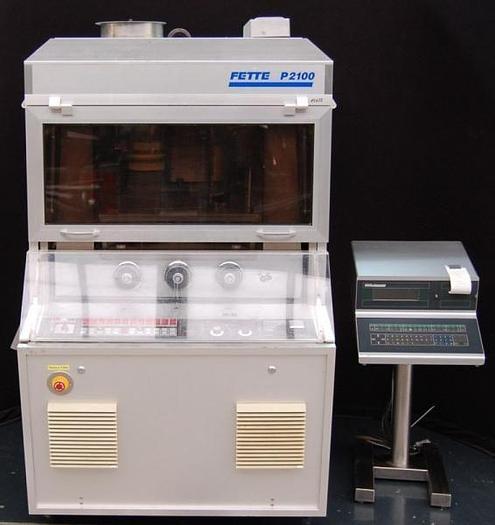 Used F 14633 D - Tablet Press FETTE P 2100 - 47 Stations