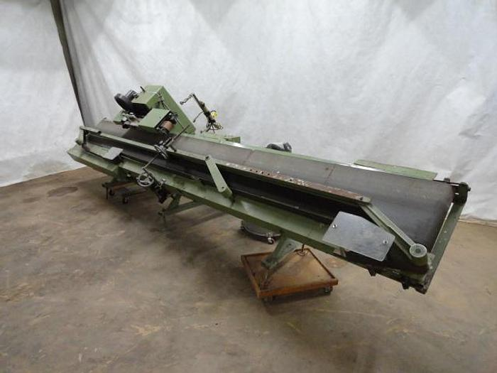 Used Amscomatic Continuous Conveyor Bag Sealer; Md#H-175