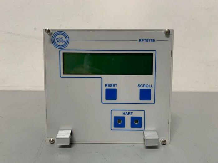 Used Micro Motion RFT9739R1EUSEZ Elite Remote Flow Transmitter 100/115 VAC