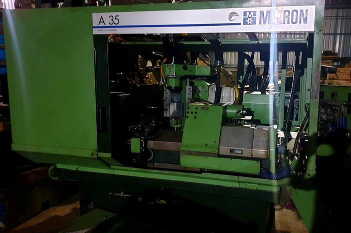 MIKRON A35 CNC GEAR HOBBER