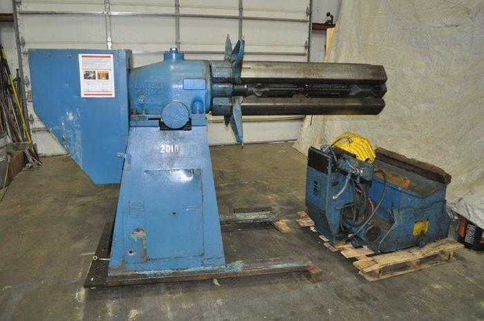 Used 15,000# LITTELL UNCOILER W/COIL CAR