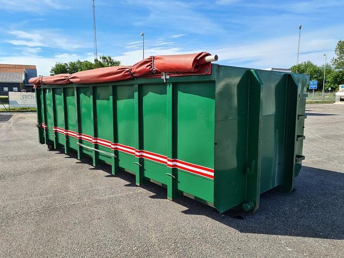 God 2012 Lasto Containerlad 6,4 m Rustfri bund
