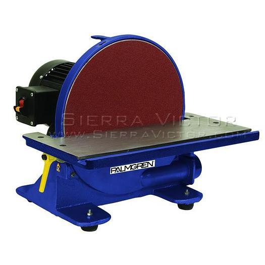PALMGREN Disc Abrasive Finishing Machine 9681312