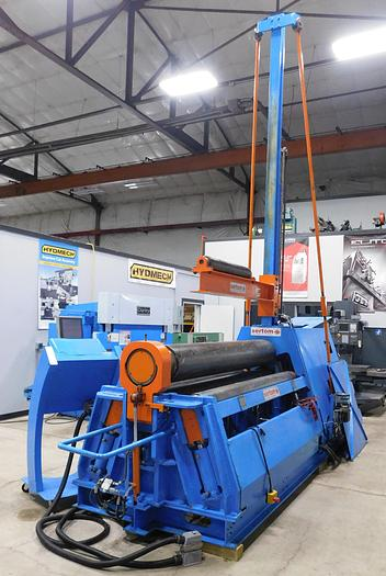 Used 2014 Sertom-RIMI CNC 4 Roll Bending Machine 4RV BULL 20-14