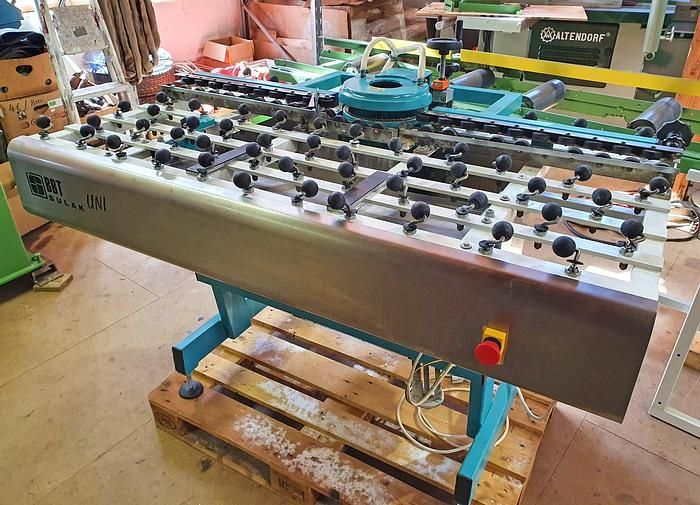 Used 2006 SULAK Glass Working Machinery s.r.o. Shape grinding machine for flat glass edges