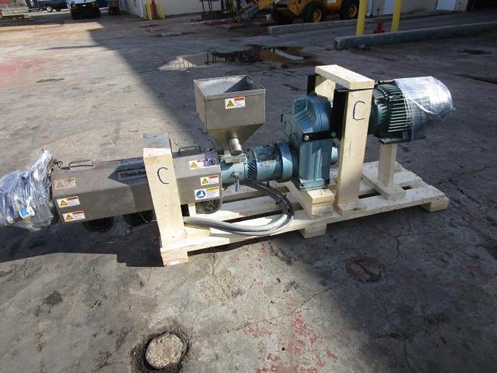 "Used 1 1/2"" Davis Standard Extruder 15 hp stock # 4756-021A"