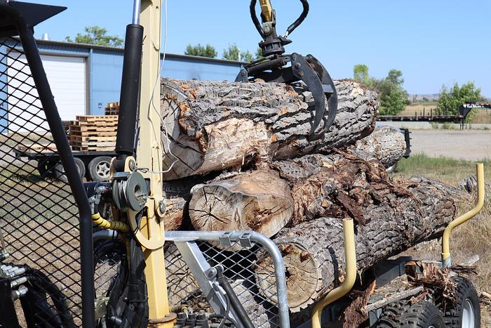 Used 4-PIECE FIREWOOD PROCESSING SYSTEM