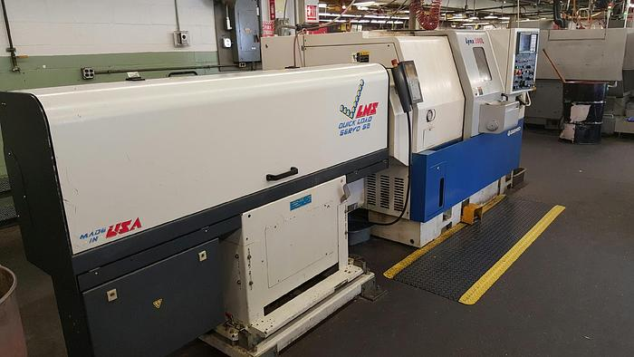 2000 Daewoo DAEWOO  LYNX 200LC  CNC Turning Center with Barfeed
