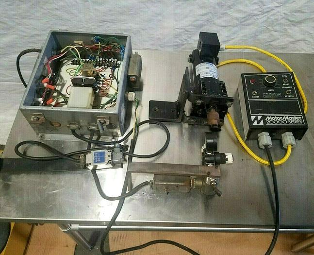 Used Motor Master 20000 Speed Drive Control with 1/8 HP DC Motor