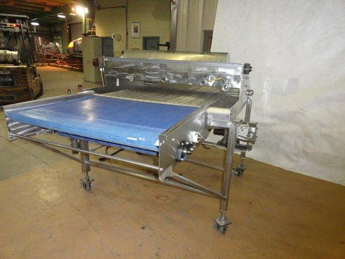 """Used Stainless Steel Sauce Applicator; 40"""" Wide"""