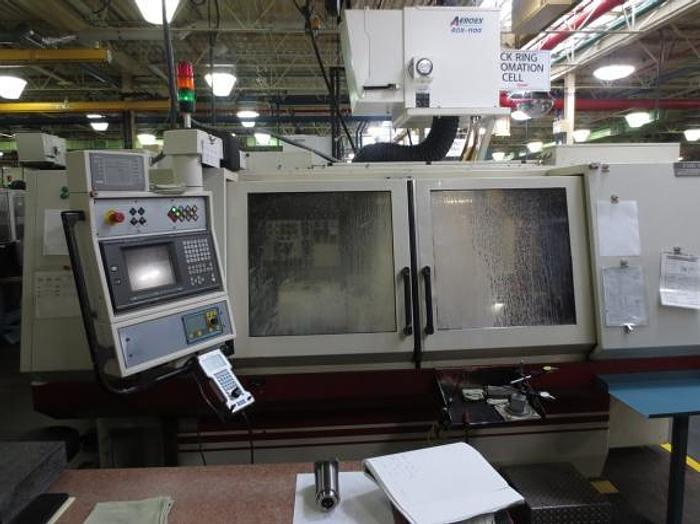 "Used 13.8"" X 39.4"", STUDER, S-40, 2000, CNC CYLINDRICAL GRINDER, W/FANUC 16T"