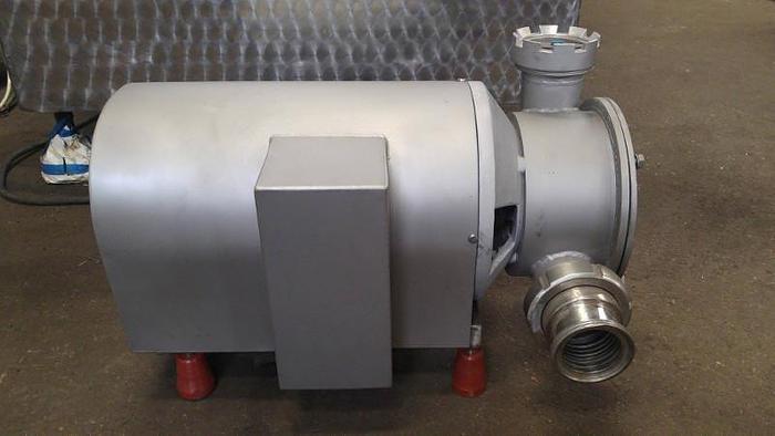 Używane Pompa z rotorem łopatkowym do mas półpłynnych i gęstych, np. farsz parówkowy, gęstwa twarogowa, marmolada itp.