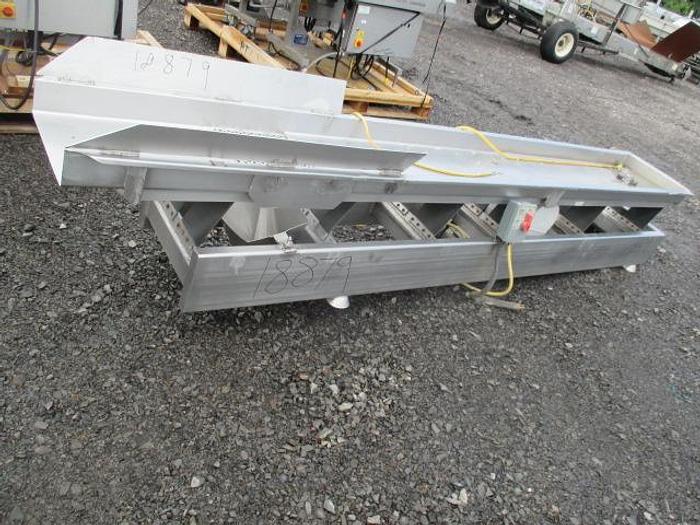 Used Smalley Vibratory Conveyor; Md#RBS-SS-USDA-18-12.0