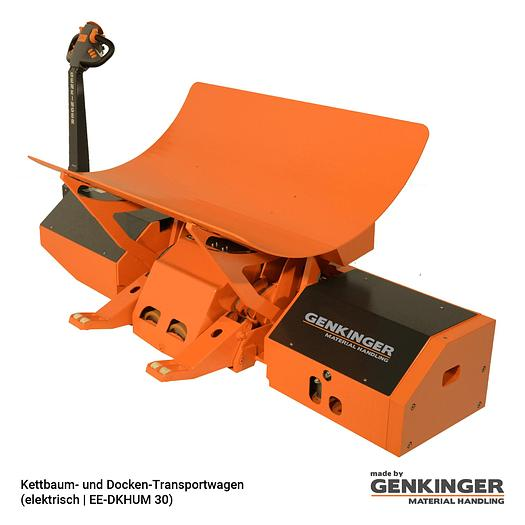 Genkinger Warp Beam and Batch Transport Trolley (electric | EE-DKHUM 20…30)