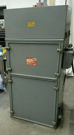Used ISHOR Model 4 Dust Collector with shaker 3 HP