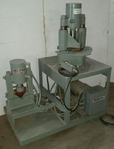 18-Ton Whitney Hydraulic Shear/Notcher/Bender