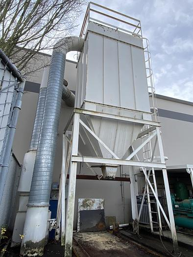 Used used Carothers Dust collector 8,000 cfm to 10,000 CFM, 1024 sqft of media cloth,