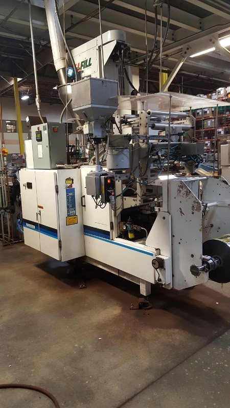 1997 HAYSSEN ULTIMA BAGGER WITH ALLFILL B600 AUGER FILLER