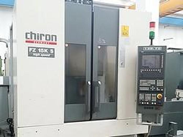 Usata Chiron FZ15KS 4 axis