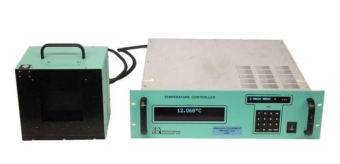 Used Electro Optical 2642LE Temperature Control & LES100-04 Black Body + Cable 8988 R