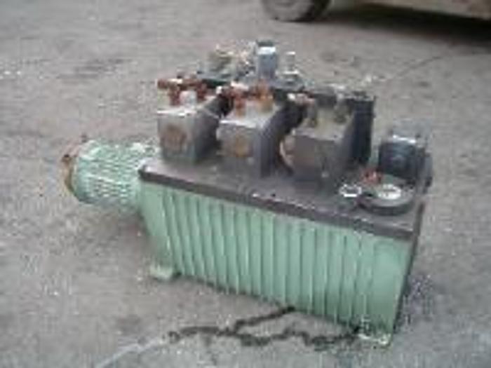 Used Fife hydraulic power unit.