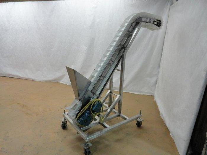 Used Stainless Steel Incline Conveyor