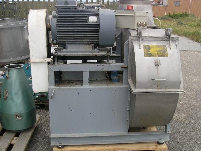 Used NOVENCO ventilator, type CT-800/100/R, serie nr. 187837, med VEM motor=45 kW.