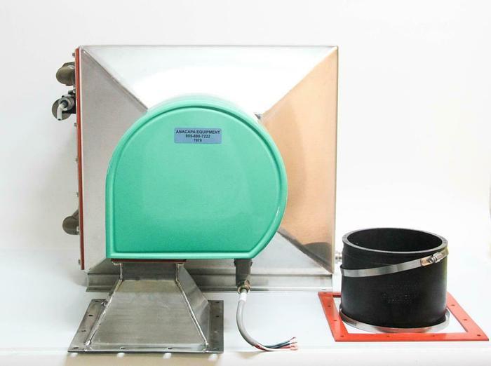 Used Air Water Heat Exchanger 208V Stainless Steel w/ Solenoid Valves USED (7078) R