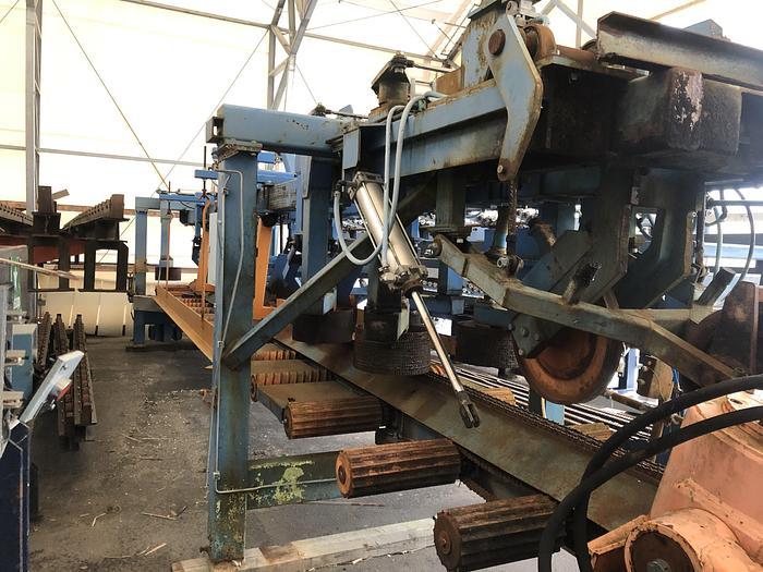 Used AKE, conveyor after saw