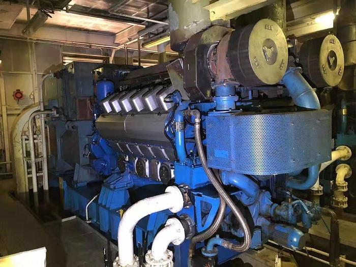 Used Wartsila 12V20 marine generator sets