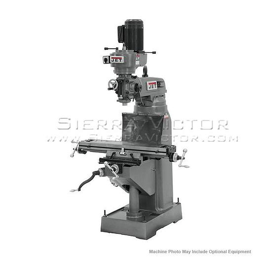 JET JVM-836-1 Step Pulley Milling Machine 115V 1Ph 690036