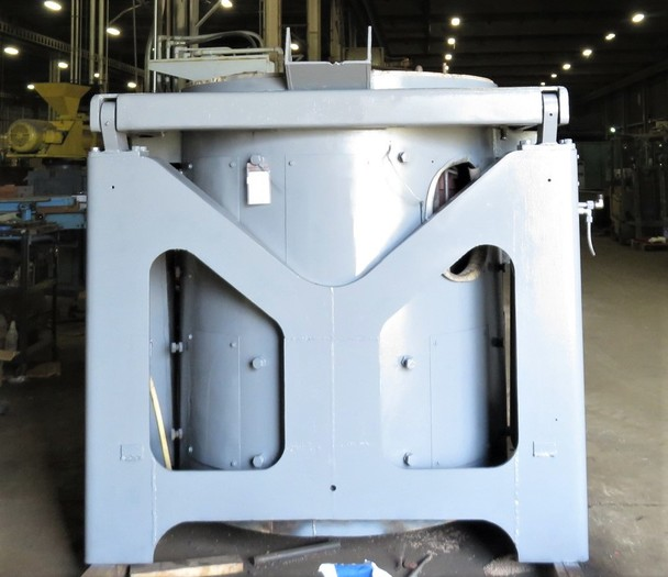 INDUCTOTHERM 4000 LB STEEL SHELL FURNACE