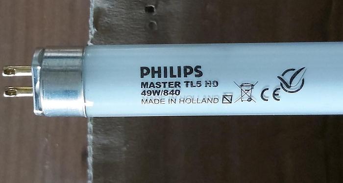40 Stk. Leuchtstoffröhren Kaltweiss, Master TL5 HO,49W/840, 145cm, Philips,  neu -50%