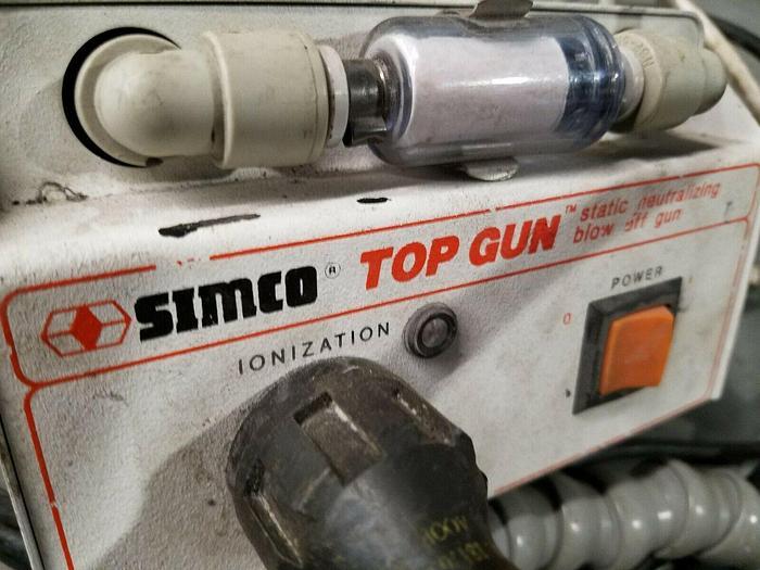Used Simco Top Gun Static Neutralizing Blow Off Gun