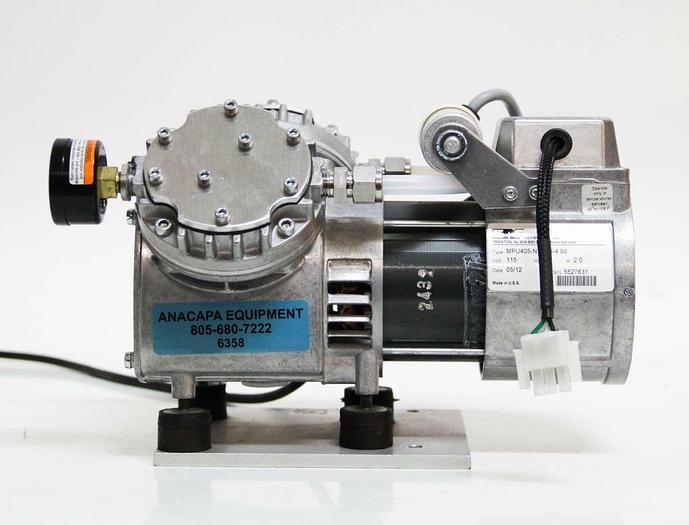 Used KNF Neuberger Inc. 405-N726.3-4.90 Vacuum Pump (6358)