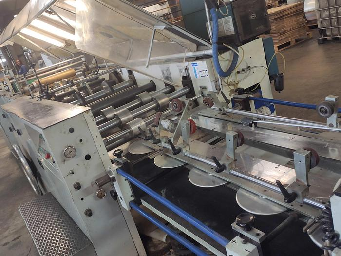 CURIONI SUN MASTER 540 - SOS paper bag making machine with twisted handle unit (1993) 2