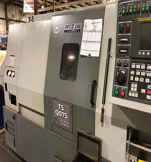 Used Hyundai Kia SKT-21LMS with Sub-Spindle and Live Tooling