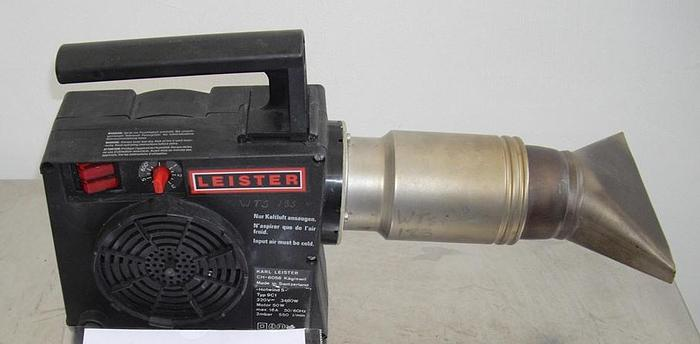 Used Leister Hotwind S Hot Air Blower